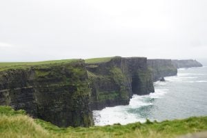 Cliffs of Moher, Ireland, 2017