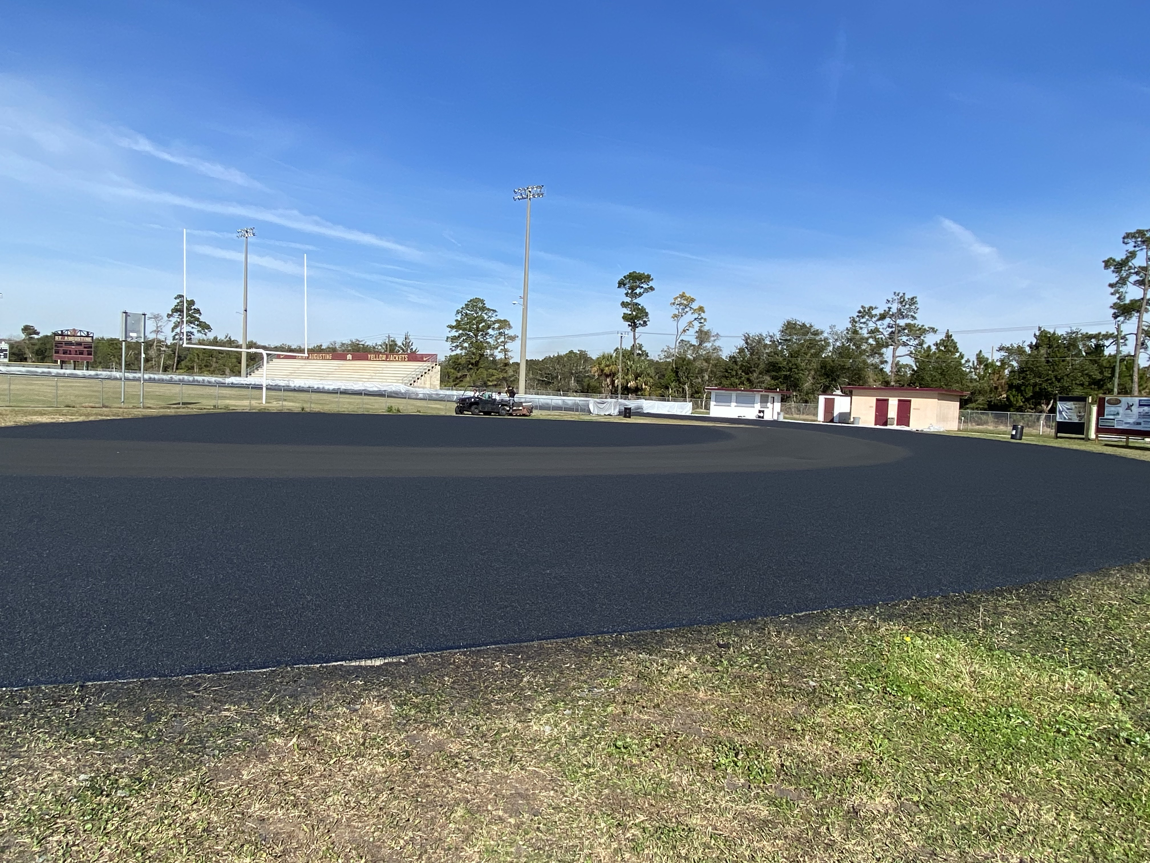 New Track Construction