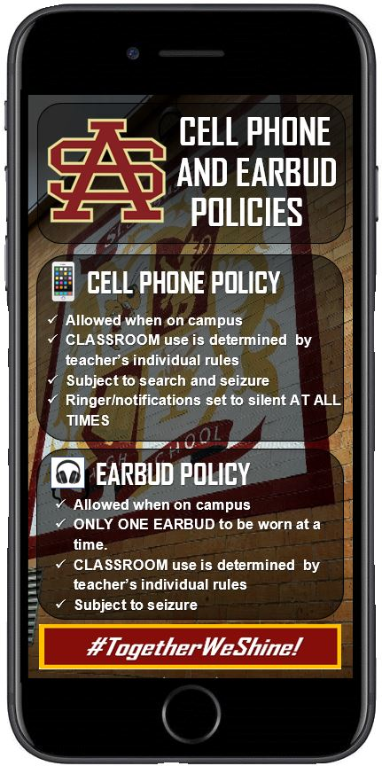 Cell and earbud policy